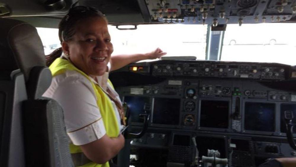 Adine Ossebi ou l'histoire de la jeune femme pilote d'Afrique