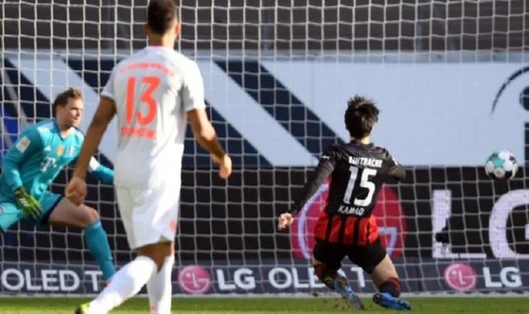 Bundesliga Le Bayern chute face à Eintracht Francfort
