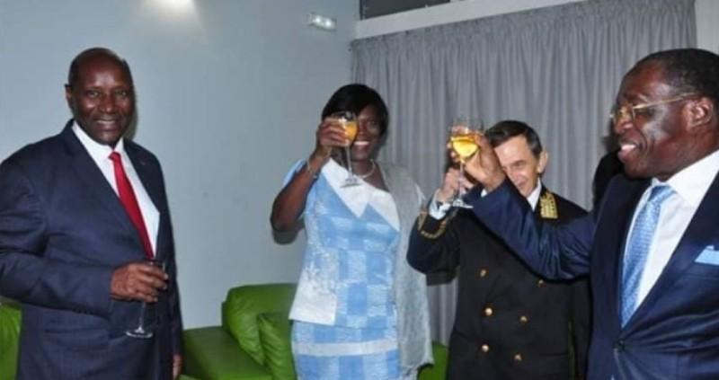 Côte d'Ivoire : Simone Gbagbo en fête aux côtés des membres du gouvernement (Photo)