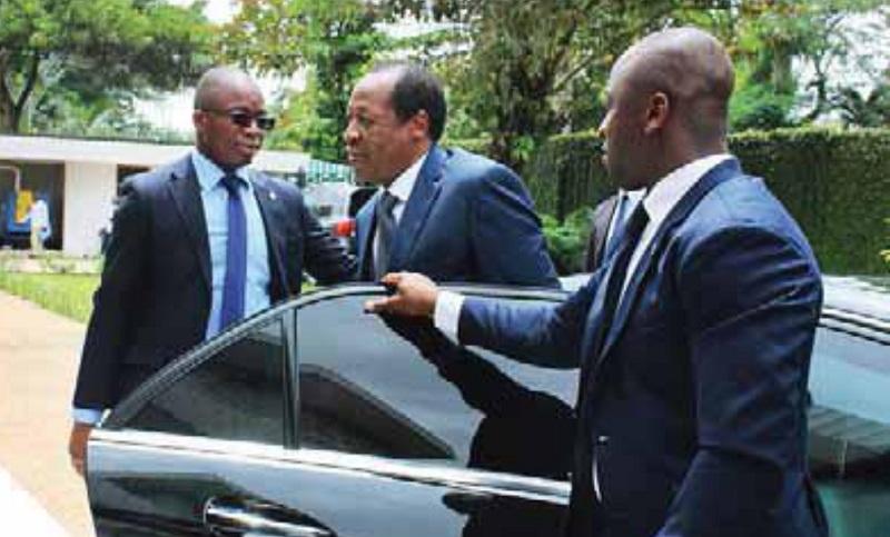 Côte d'Ivoire : les petits moments de détente de l'ex-président Blaise Compaoré à Abidjan