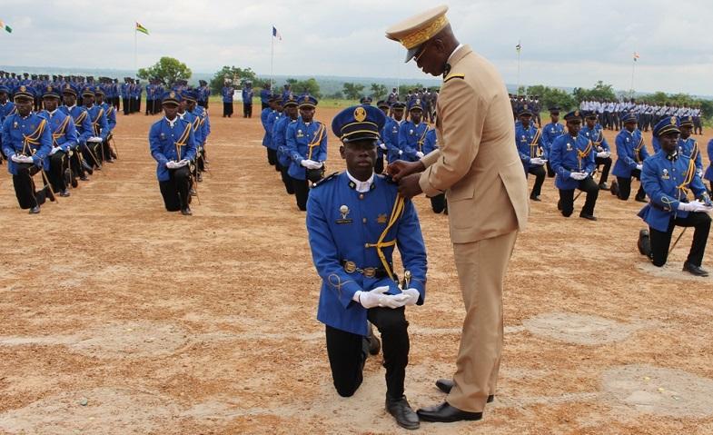 EFOFAT fin de formation pour 55 élèves officiers