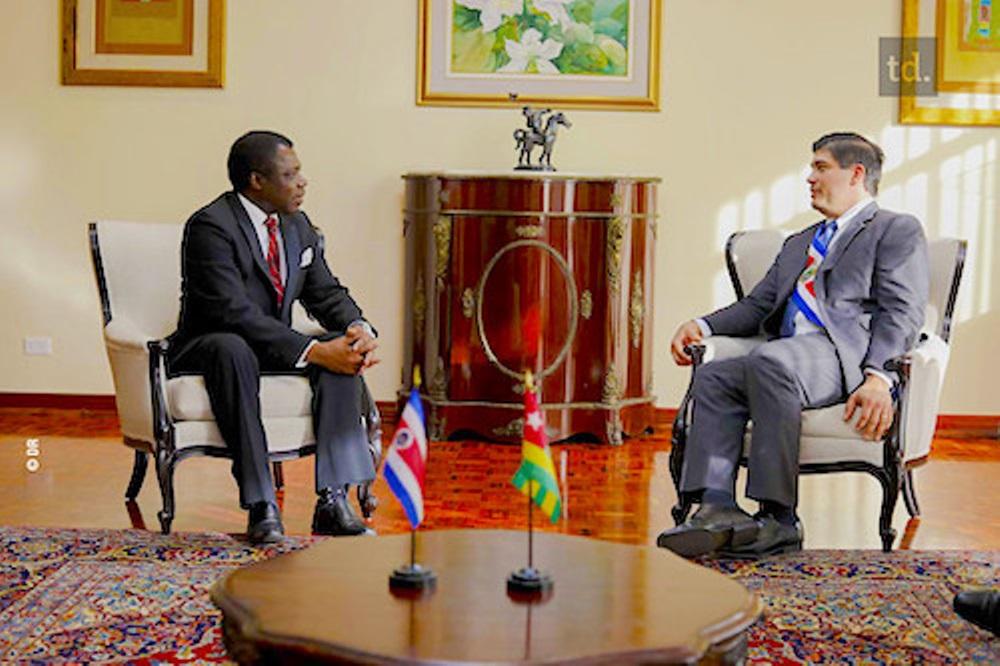 Frédéric Hegbe, nouvel ambassadeur du Togo au Costa-Rica