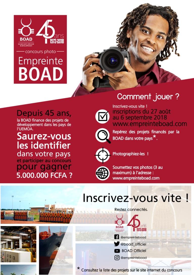 Empreinte BOAD, concours, photographie, BOAD