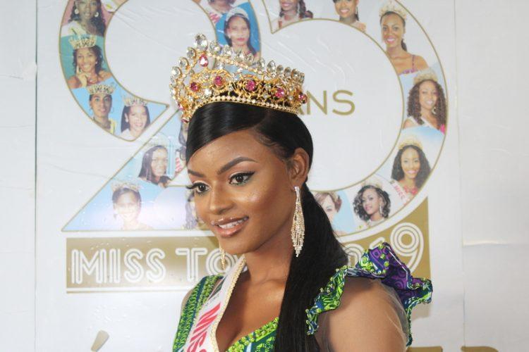 Miss Togo 2019, Mlle Ichabatou Gnongbo-Tchoro remet sa couronne en jeu