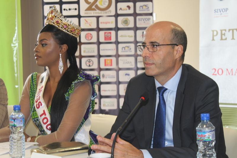 Miss Togo 2019 Mlle Ichabatou Gnongbo-Tchoro remet sa couronne en jeu (5)