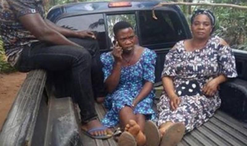 [Photo] 2 femmes arrêtées pour avoir vendu un bébé de 2 jours