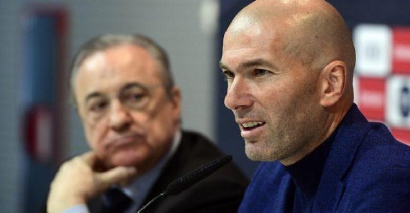 Réal Madrid, Florentino Pérez, Zidane, Français,