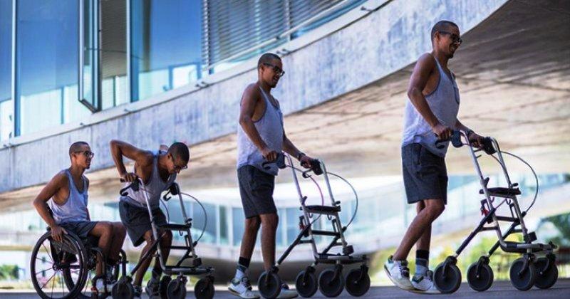 Paralytiques, remarcher, Lausanne, Suisse
