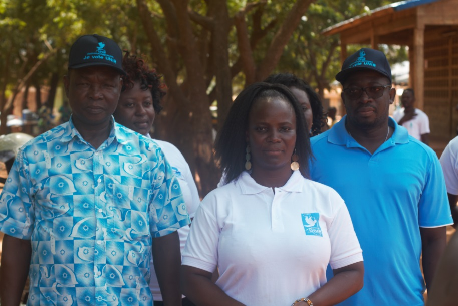 Togo-Elections Municipales les populations d'Agoè-Nyivé 1 invitées à choisir la continuité du Plan National de Développement (PND)