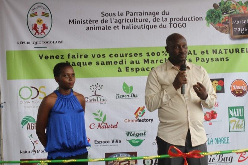 Togo-Espace Viva le marché des paysans officiellement ouvert ce samedi (4)-min