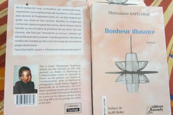 Littérature togolaise,Bonheur illusoire, roman, Dhémanane Kafechina