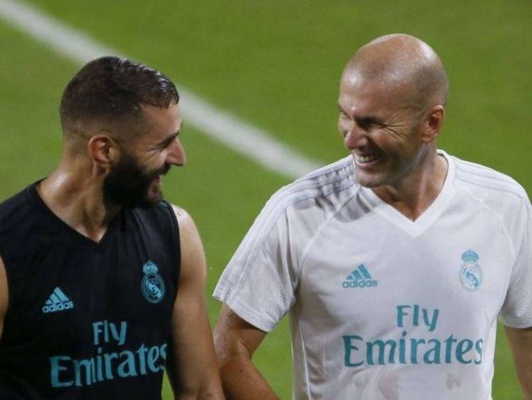Equipe de France Zidane en remet une couche sur la mise à l'écart de Karim Benzema