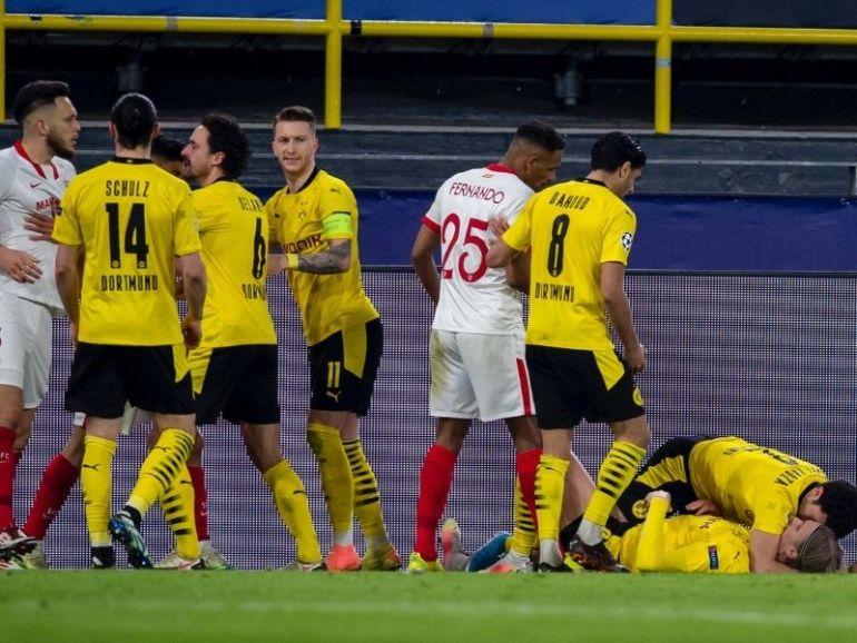 Ligue des champions Dortmund file en quarts de finale malgré le nul arraché par Séville