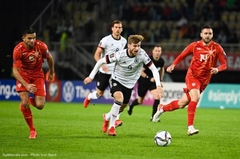 Coupe du monde 2022 : l'Allemagne devient le premier pays à se qualifier après avoir massacré la Macédoine du Nord