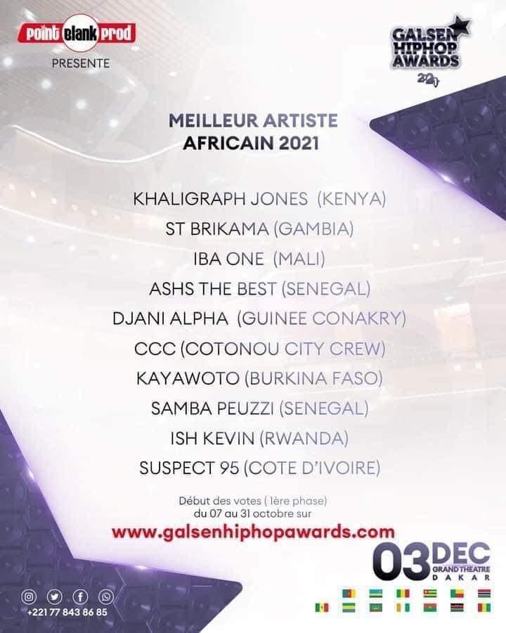 Togo/Musique : Mic Flammez, Pikaluz et Yaovi Kheteti ridiculisés pour n'avoir pas été nominés à cette compétition internationale