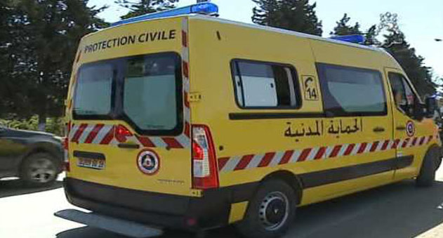 Interventions de la protection civile