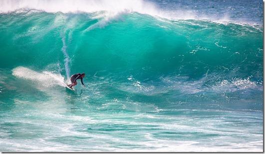 surf vagues Automne