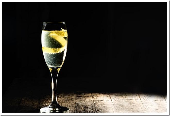 soupe champagne citron aperitifs preferes