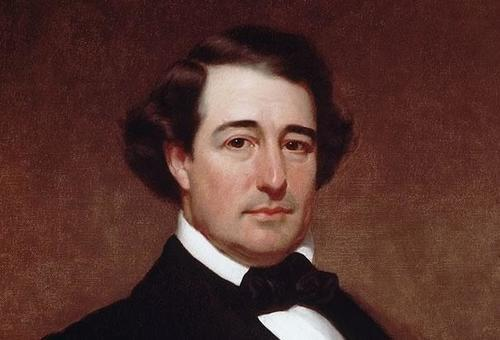 Millard Fillmore as a younger man? Several sites claim this is a painting of Fillmore, but as with much about our mysterious 13th president, it's difficult to confirm, partly because images of Fillmore really are rather rare.