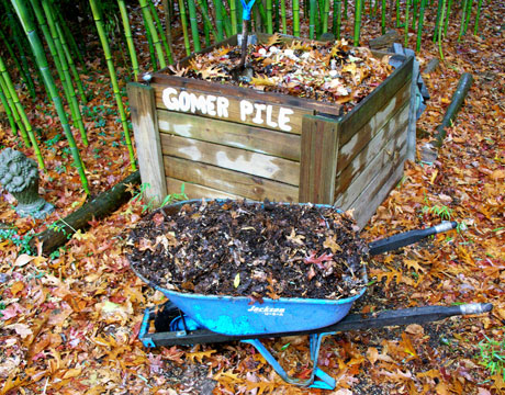 jeff yeager's compost, gomer pile