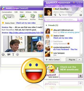 [Yahoo! Messenger for Windows]