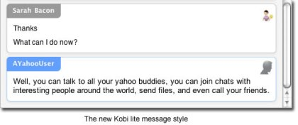 kobilite - Yahoo messenger for Mac 3.0 Beta 4 now available