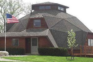 Geodesic home -  2643 Birch Ave, Batavia, IA