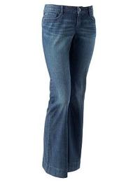 LC Lauren Conrad Flare Jeans