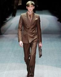 Gucci Brown Suit