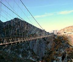 Puente de Ojuela in the northen Mexican state of Durango