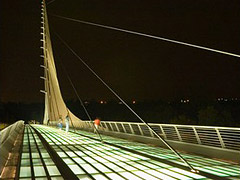 Sundial Bridge, Redding, California, United States
