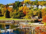 Rockport, Maine, view from water (George & Monserrate Schwartz/Alamy)