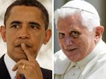 Barack Obama/Pope Benedict XVI (AP)