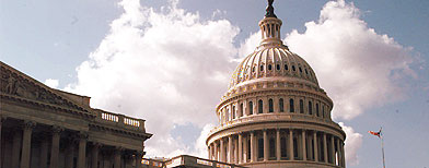 File photo of Capitol Building from 1998. (AP Photo/Joe Marquette)