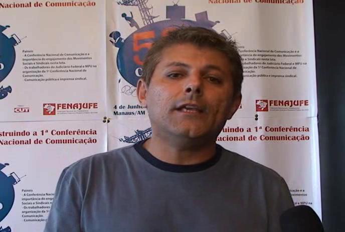 Fenajufe - Construindo a 1ª Conferência Nacional de Comunicação @ Yahoo! Video