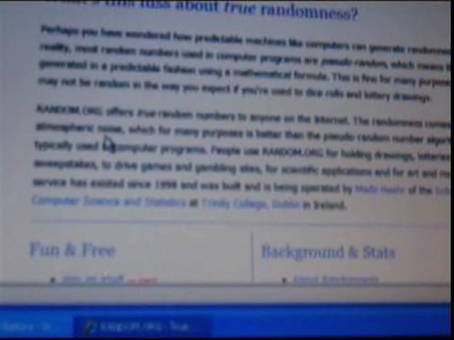 Capricci Di Natura - concorso giugno 2009 @ Yahoo! Video