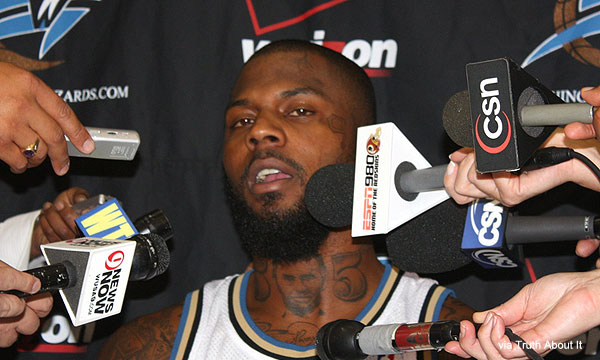 Why DeShawn Stevenson has Lincoln tattooed on his neck