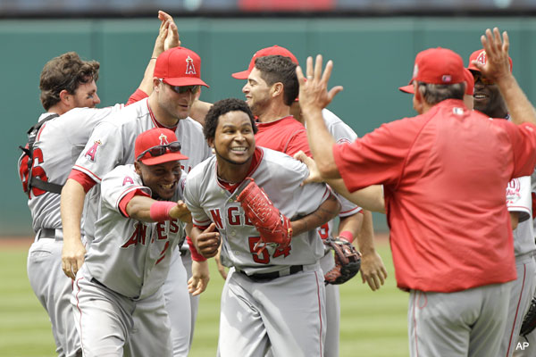 Clutch by an Angel: Ervin Santana no-hits the Indians