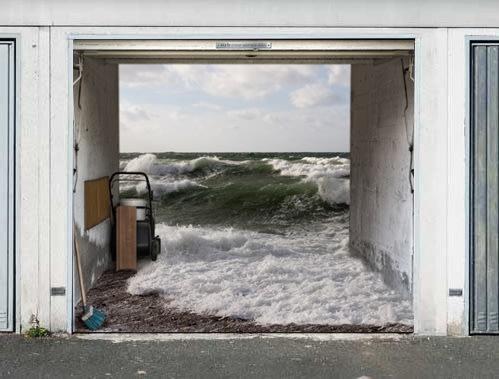 Ultra-realistic garage doors