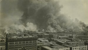 In this June 1, 1921, photo provided by the Tulsa Historical…