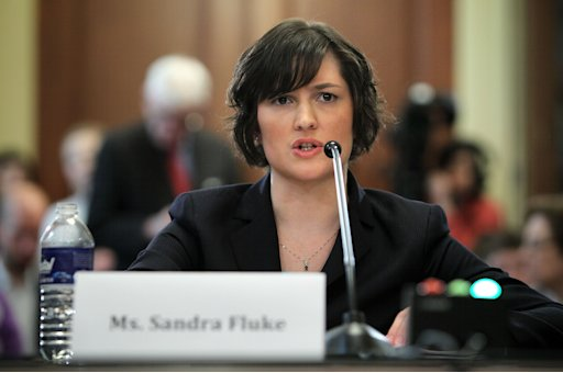 Sandra Fluke appeared before US lawmakers to argue that health insurance plans should cover the cost of contraception