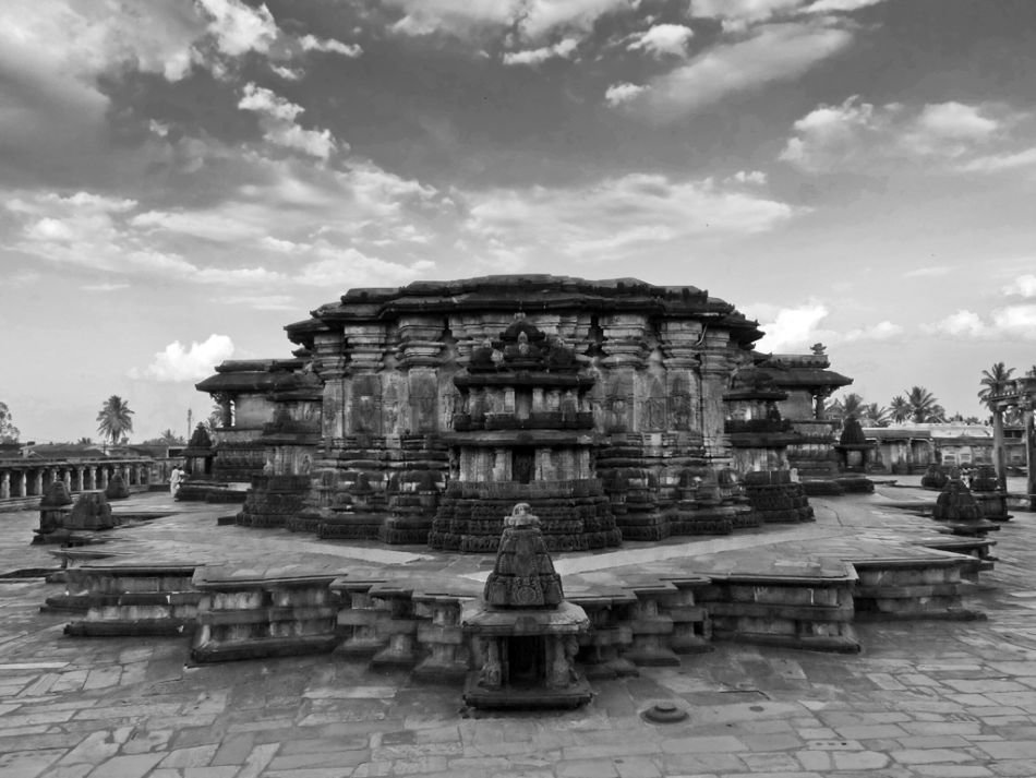 Built of soft bluish-grey soapstone, the Chennakeshava temple at Belur, Karnataka is a jewel of Hoysala architecture.  View slideshow: Magnificent Belur - Poetry in Soapstone