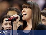 Star delivers rousing national anthem