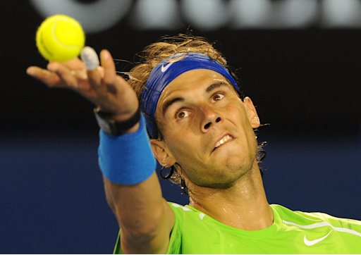 Rafael Nadal is chasing his 11th grand slam title