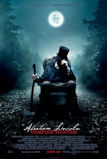 Poster of Abraham Lincoln: Vampire Hunter