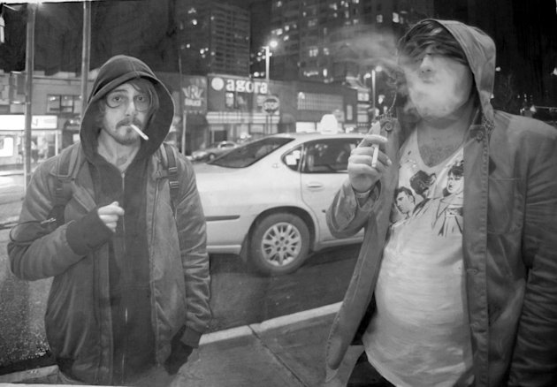 Gambar karya Paul Cadden yang berjudul Detroit' (Paul Cadden / Solent News / Rex Features)