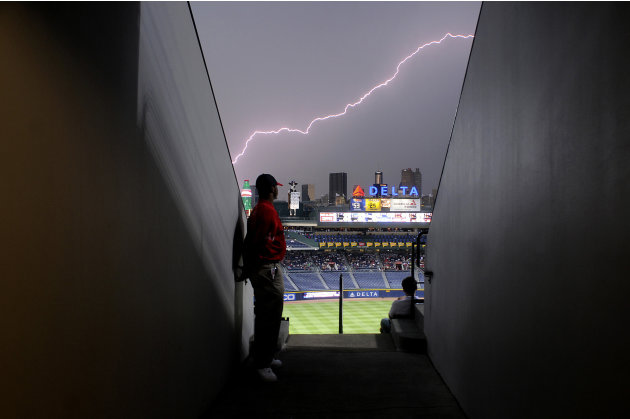 Photo prise le 15/06/2011 au Turner Field d'Atlanta. REUTERS/Tami Chappell