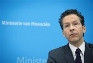 Dutch Finance Minister Jeroen Dijsselbloem speaks at a news conference in The Hague February 1, 2013. REUTERS/Bart Maat