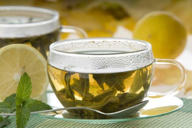 Sip spearmint tea