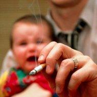 Bahayanya Anak Terpapar Asap Rokok